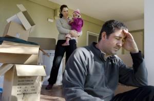abandon de domicile conjugal faute droit de partir déménagement séparation divorce lieu de résidence enfants
